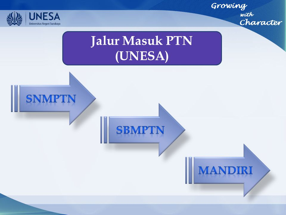 Jalur Masuk PTN (UNESA)