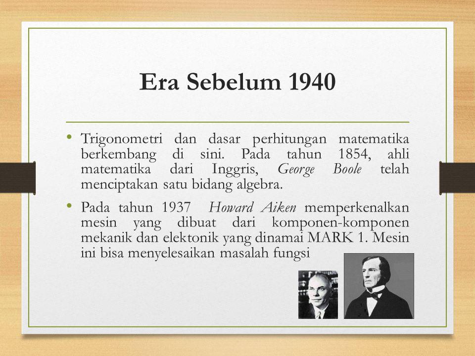 Era Sebelum 1940