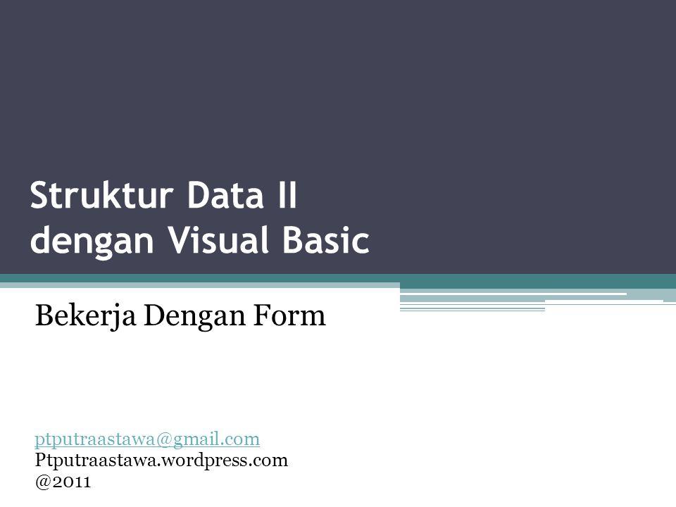 Struktur Data II dengan Visual Basic