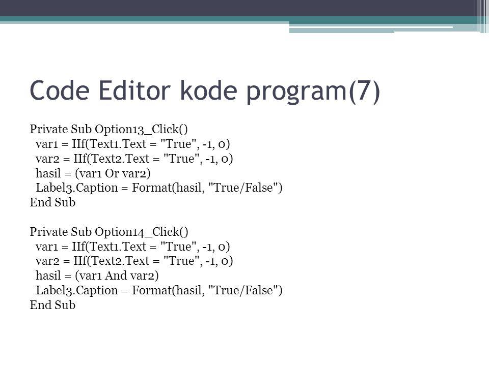 Code Editor kode program(7)