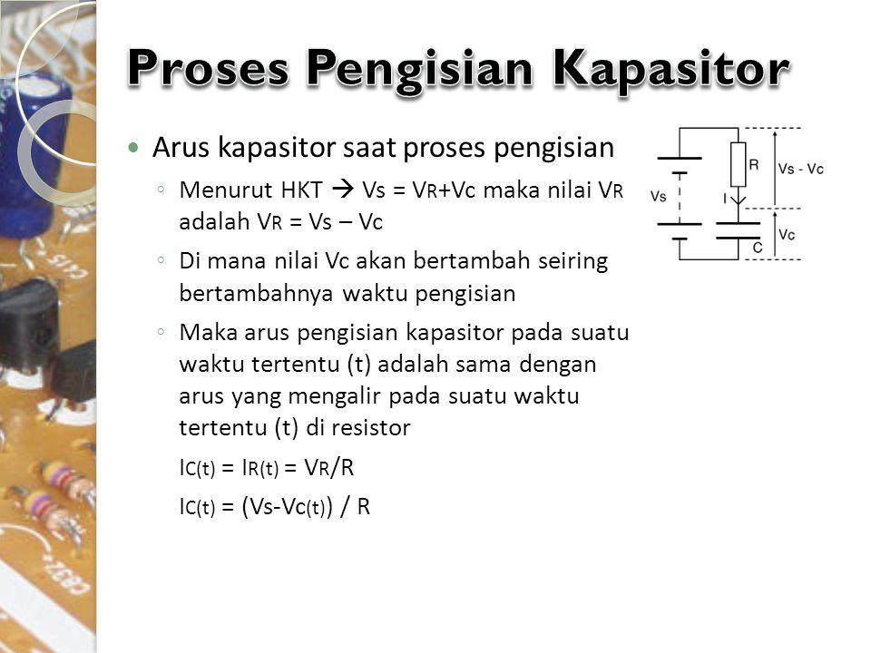 Proses Pengisian Kapasitor