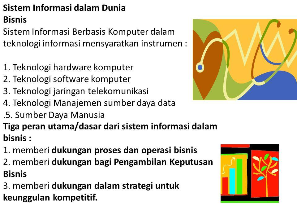 Sistem Informasi dalam Dunia