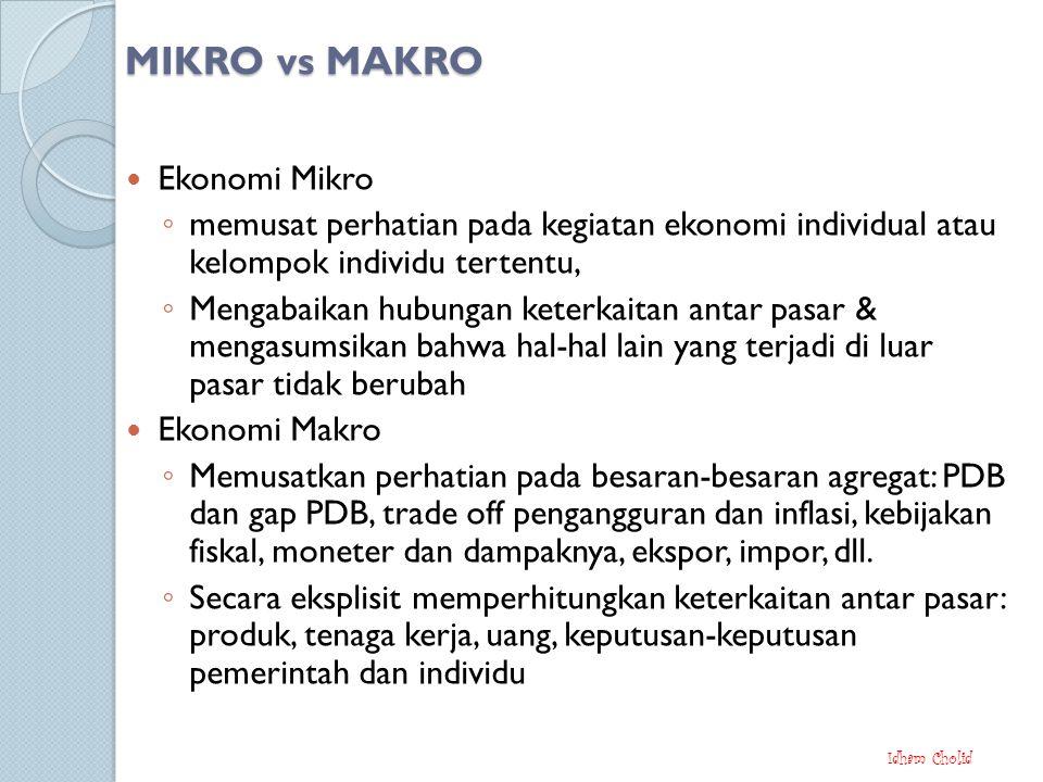 MIKRO vs MAKRO Ekonomi Mikro