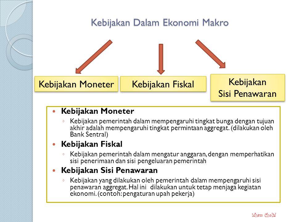 Kebijakan Dalam Ekonomi Makro
