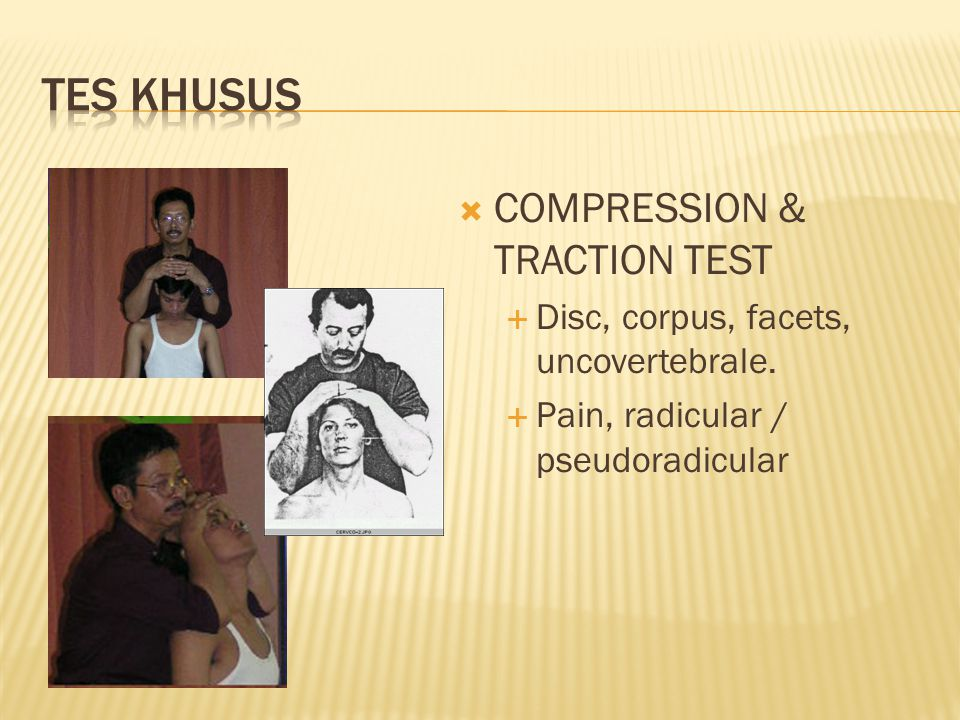 TES KHUSUS COMPRESSION & TRACTION TEST