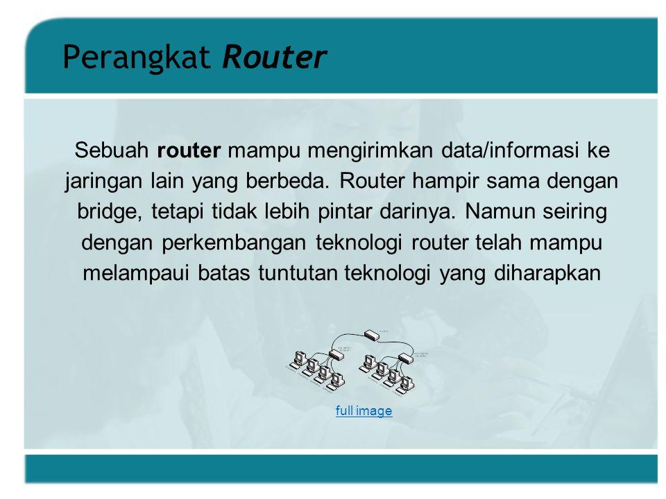 Perangkat Router