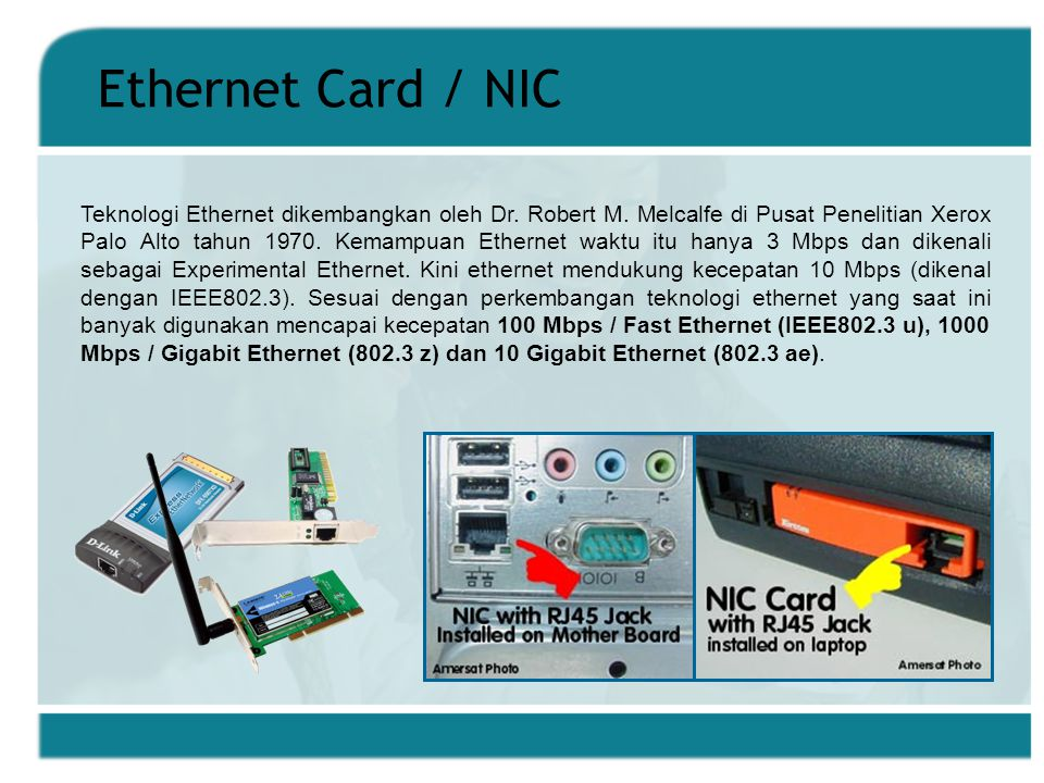 Ethernet Card / NIC