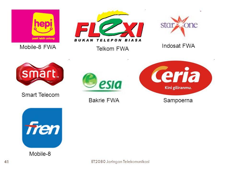 Mobile-8 FWA Indosat FWA Telkom FWA Smart Telecom Bakrie FWA Sampoerna