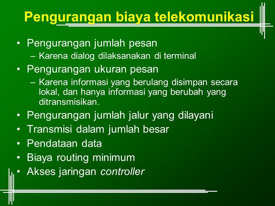 Pengurangan biaya telekomunikasi