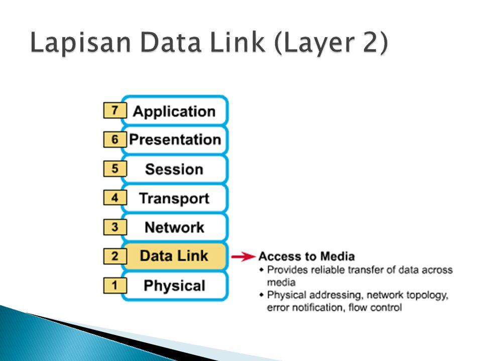Lapisan Data Link (Layer 2)