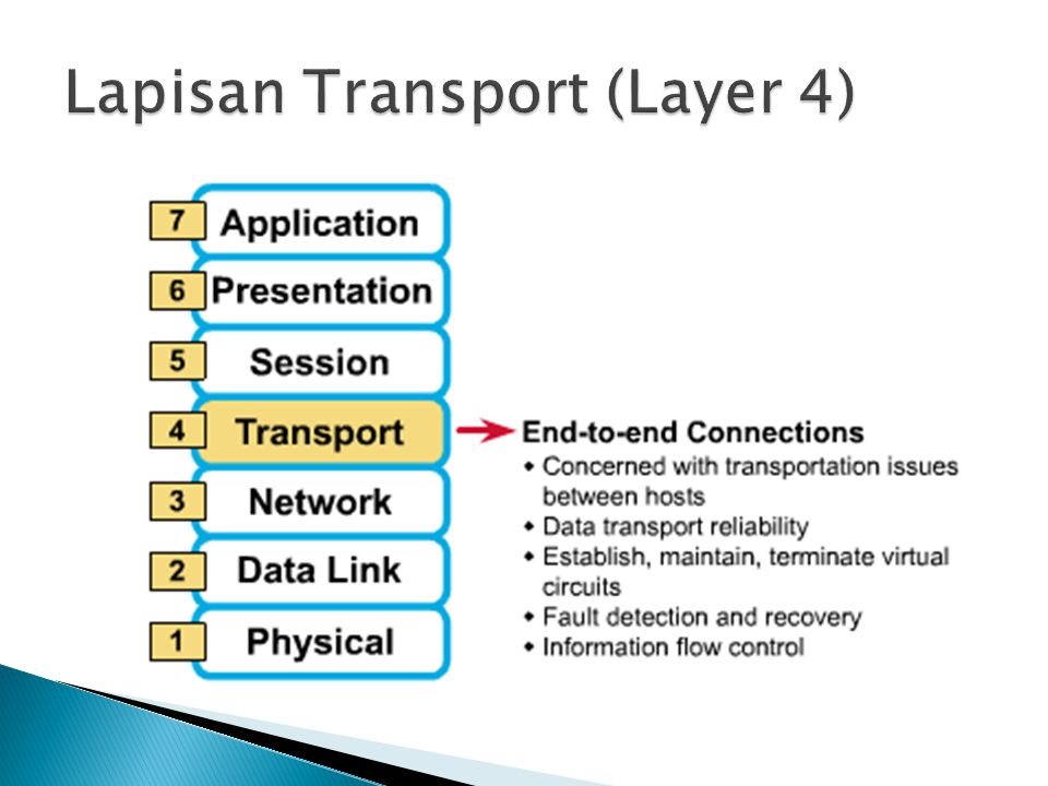 Lapisan Transport (Layer 4)