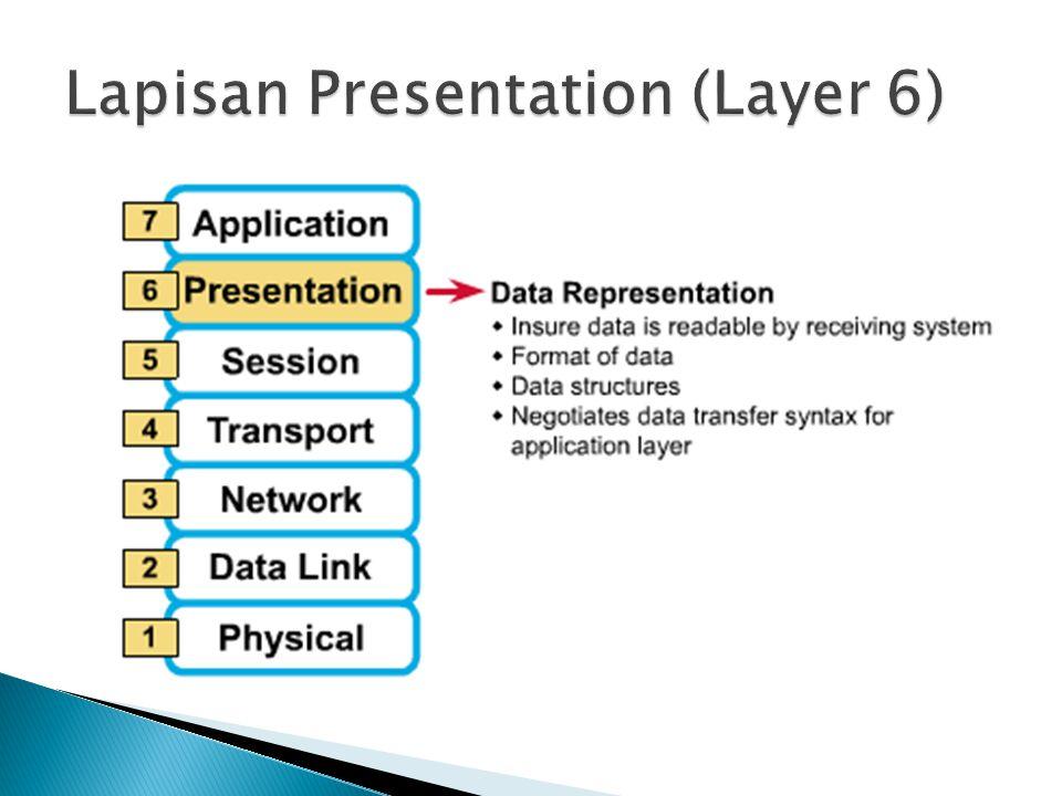 Lapisan Presentation (Layer 6)