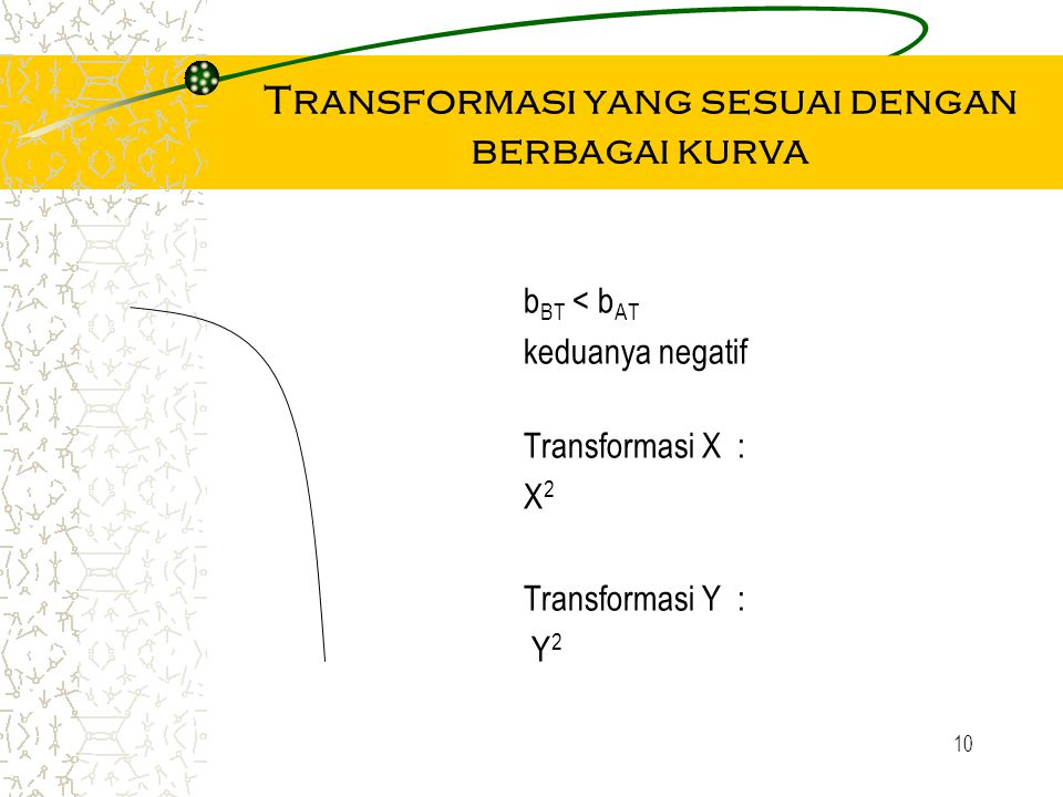Transformasi yang sesuai dengan berbagai kurva