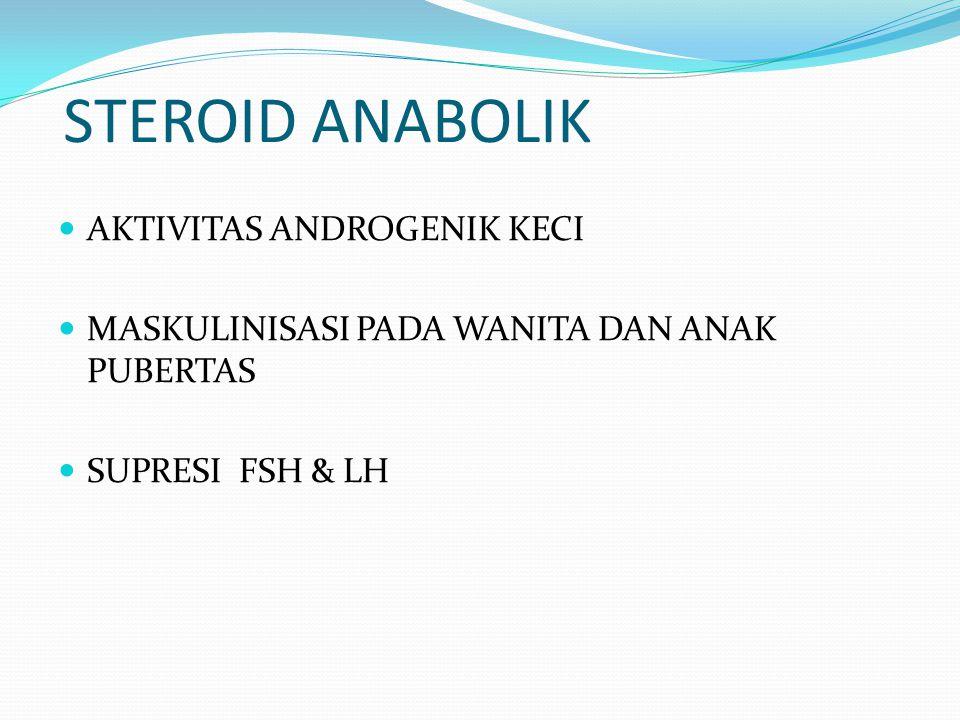 STEROID ANABOLIK AKTIVITAS ANDROGENIK KECI