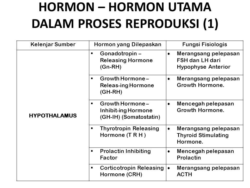 HORMON – HORMON UTAMA DALAM PROSES REPRODUKSI (1)