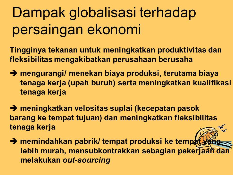 Dampak globalisasi terhadap persaingan ekonomi
