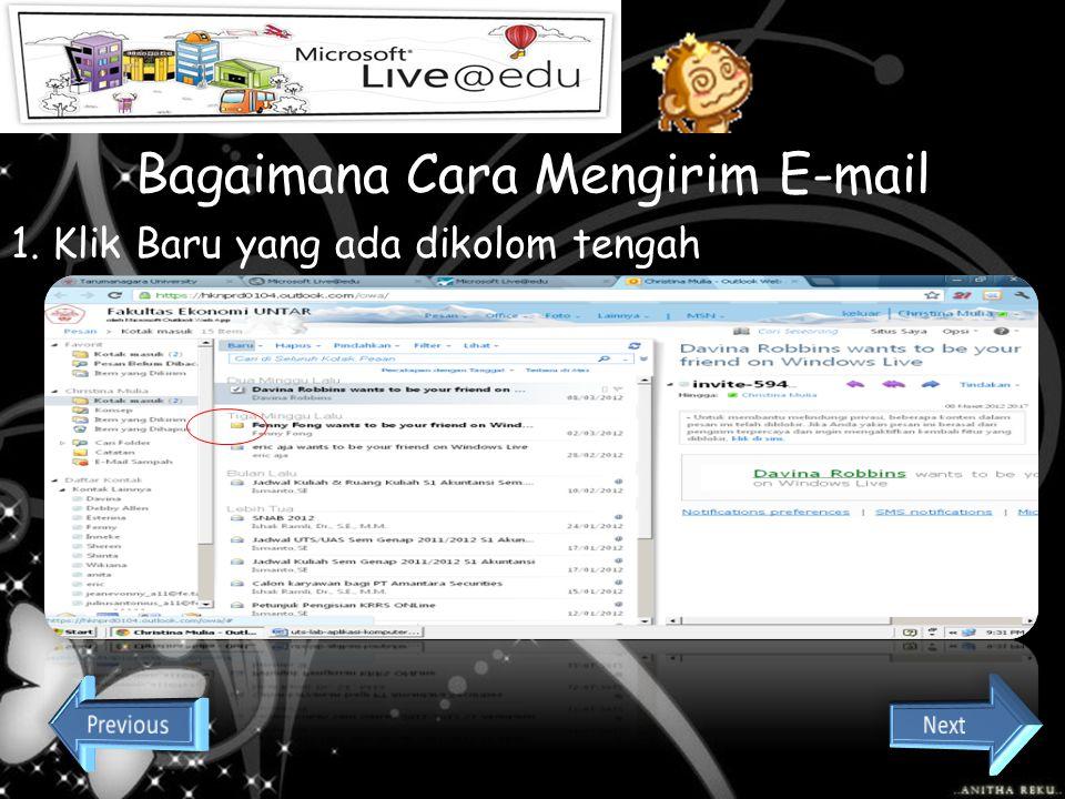 Bagaimana Cara Mengirim E-mail
