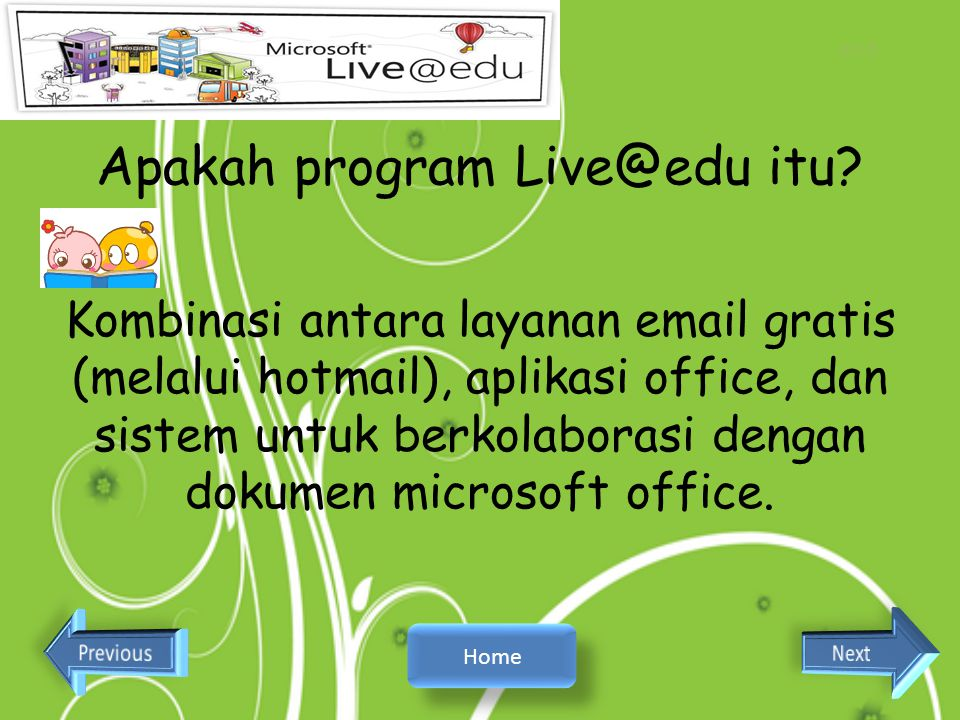 Apakah program Live@edu itu