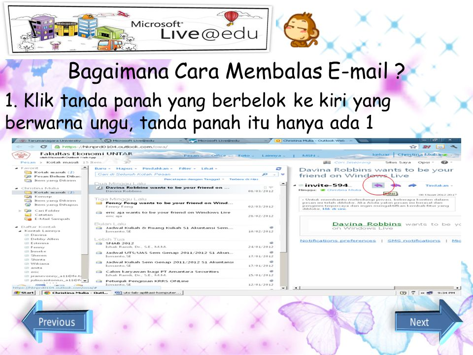 Bagaimana Cara Membalas E-mail