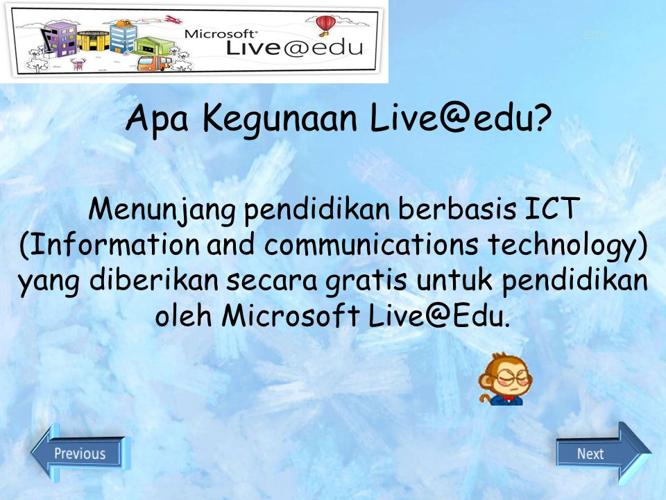 end Apa Kegunaan Live@edu