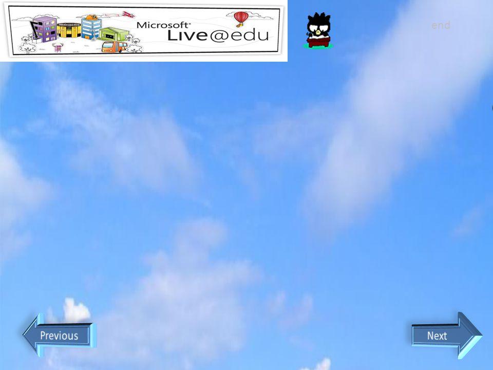 end Apa sih Program Live@Edu yang diberikan oleh Microsoft untuk Pendidikan 1. Windows Live Hotmail.