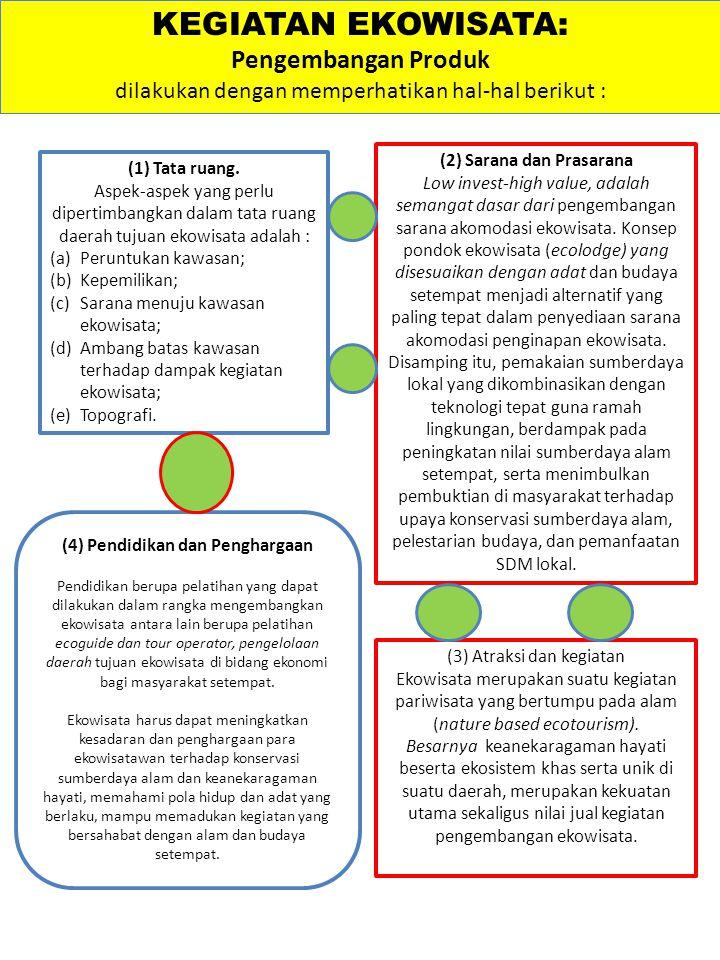 (2) Sarana dan Prasarana (4) Pendidikan dan Penghargaan