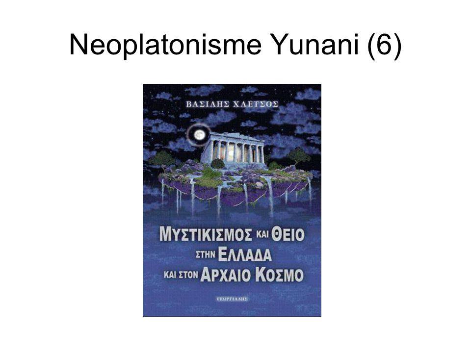 Neoplatonisme Yunani (6)