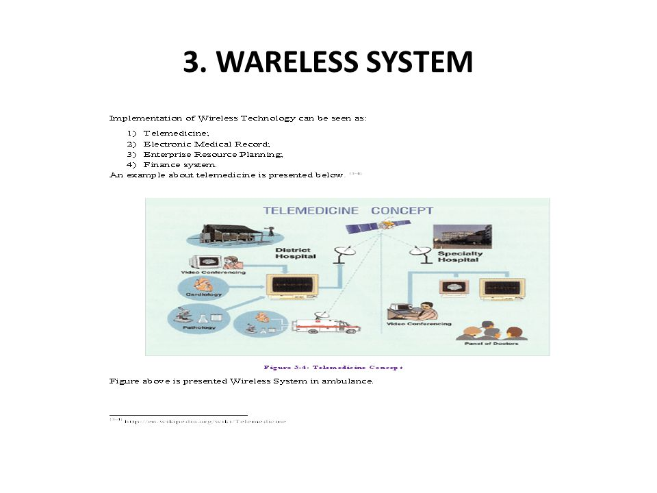 3. WARELESS SYSTEM