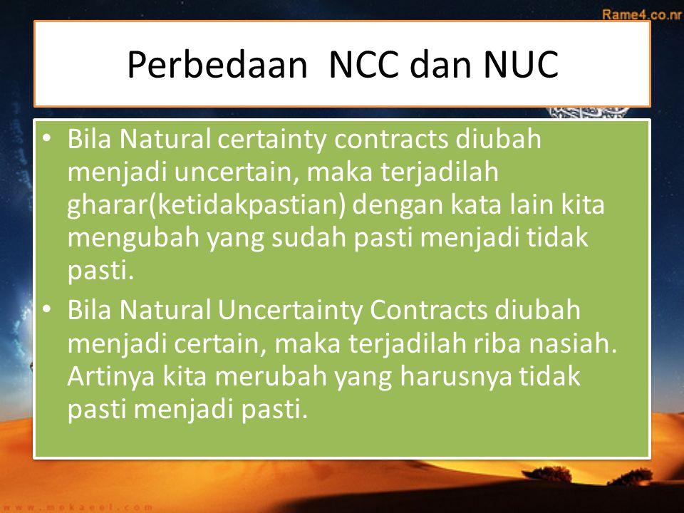 Perbedaan NCC dan NUC