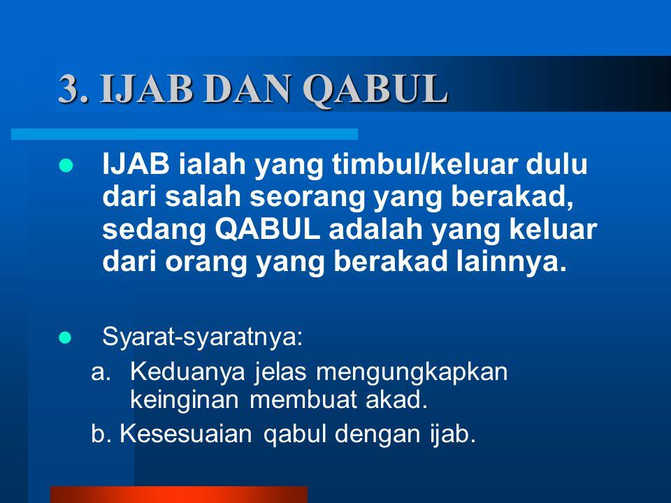 3. IJAB DAN QABUL