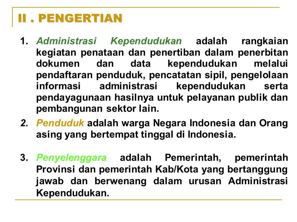 II . PENGERTIAN