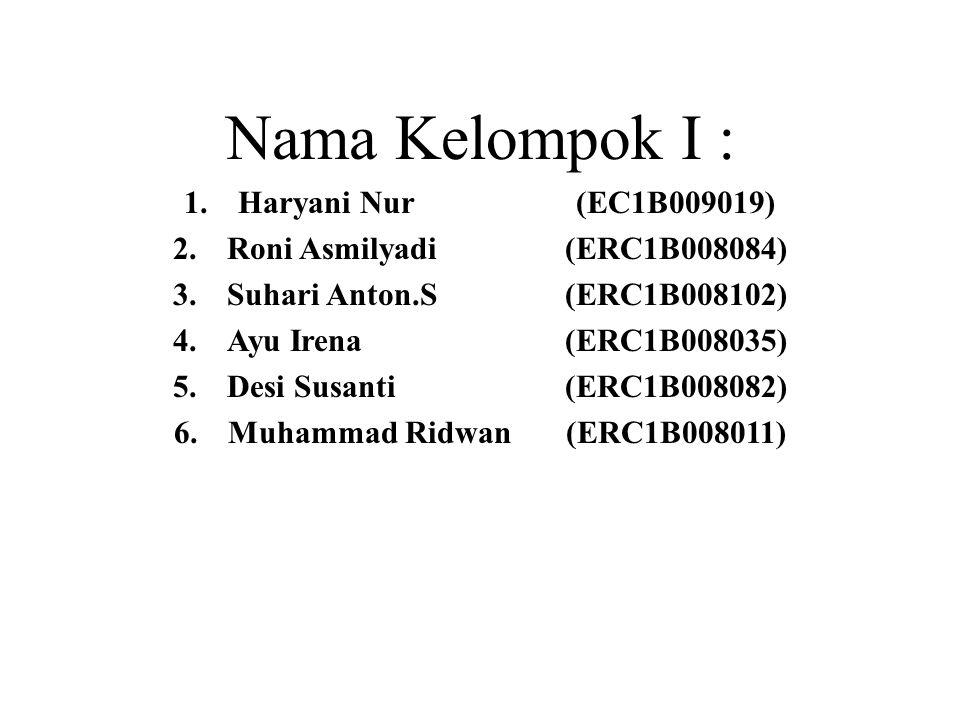 Muhammad Ridwan (ERC1B008011)