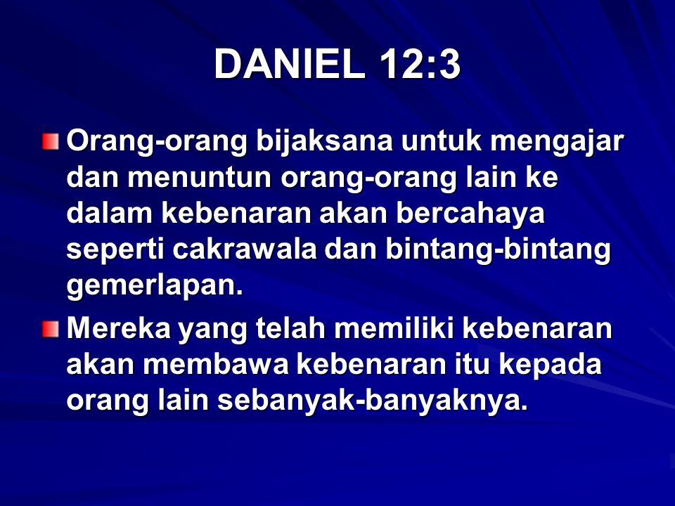 DANIEL 12:3