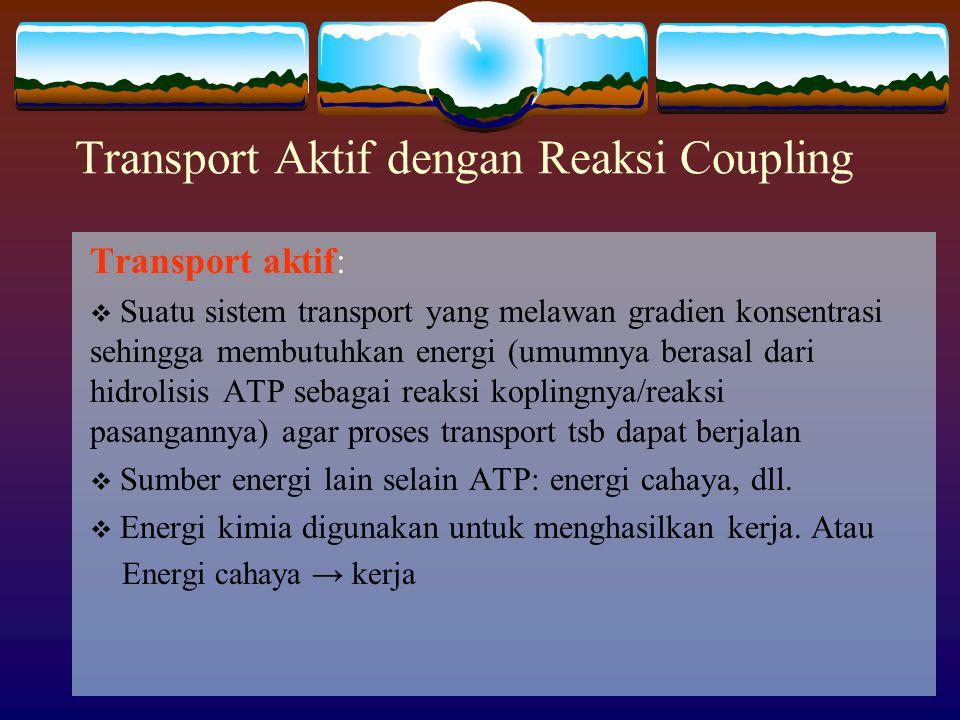 Transport Aktif dengan Reaksi Coupling