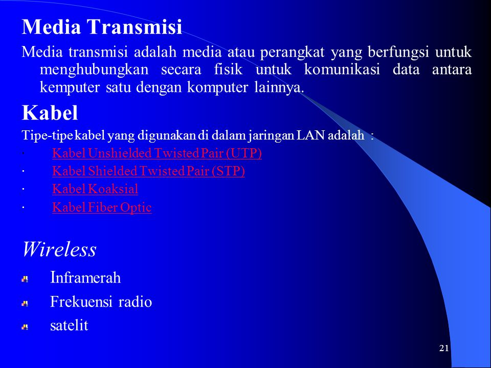 Media Transmisi Kabel Wireless Inframerah