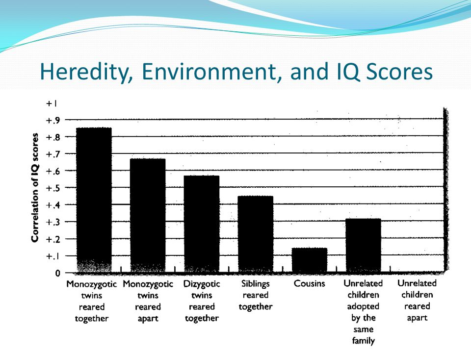 Heredity, Environment, and IQ Scores