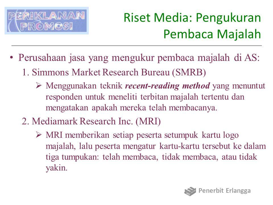 Riset Media: Pengukuran Pembaca Majalah