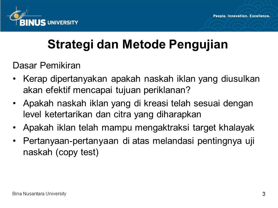 Strategi dan Metode Pengujian