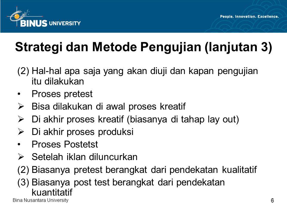 Strategi dan Metode Pengujian (lanjutan 3)