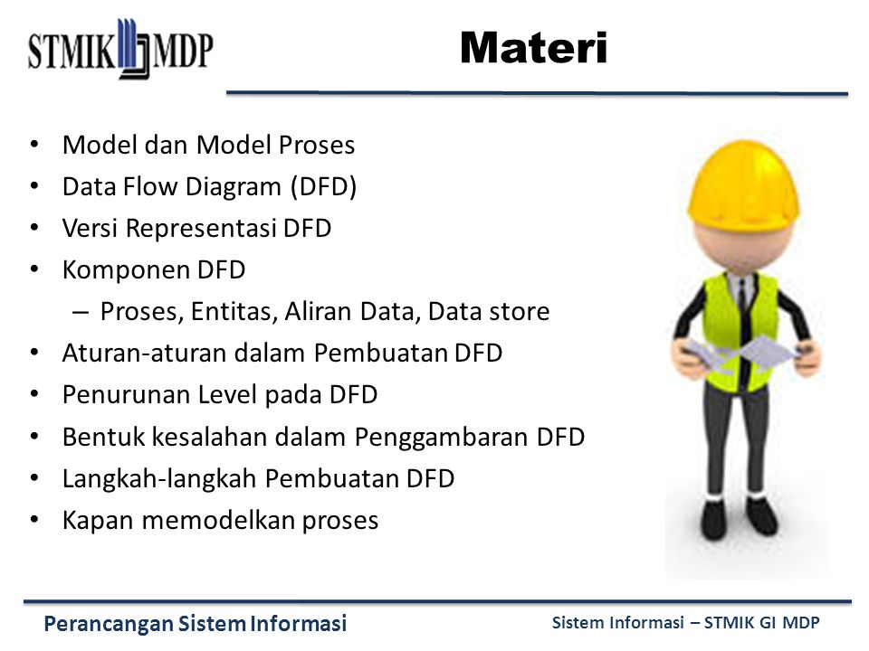 Materi Model dan Model Proses Data Flow Diagram (DFD)