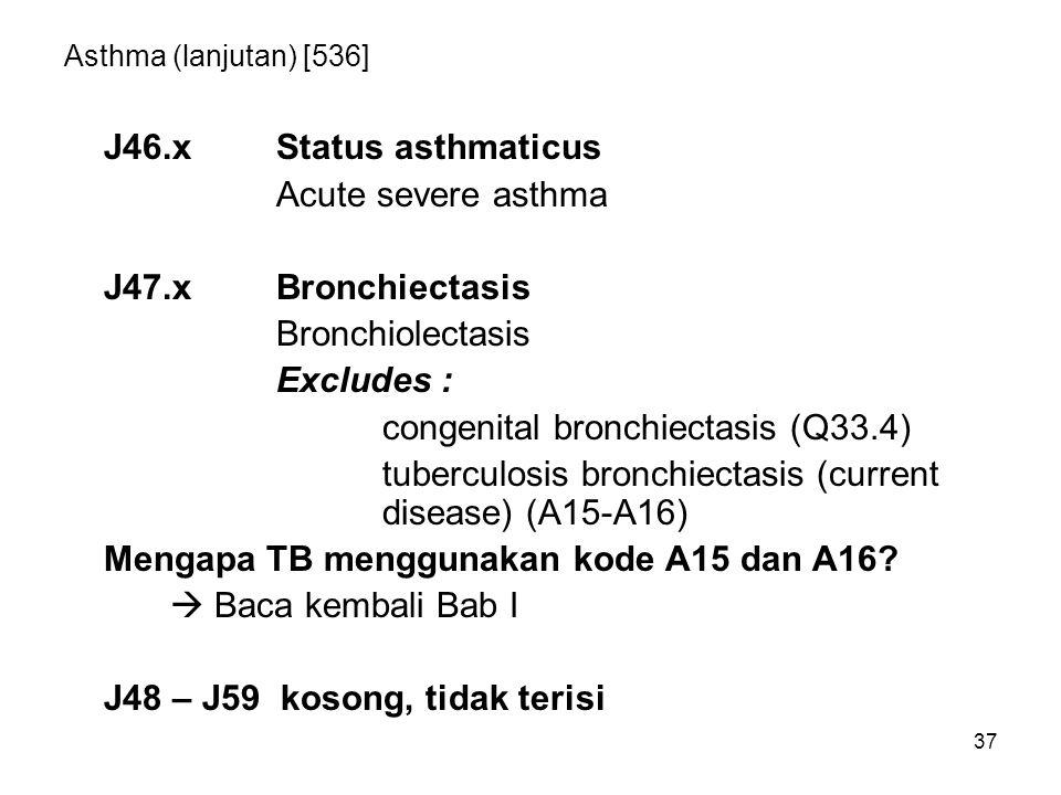 congenital bronchiectasis (Q33.4)