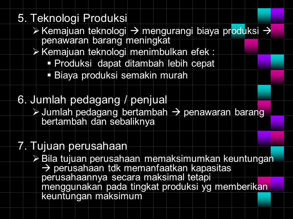 6. Jumlah pedagang / penjual