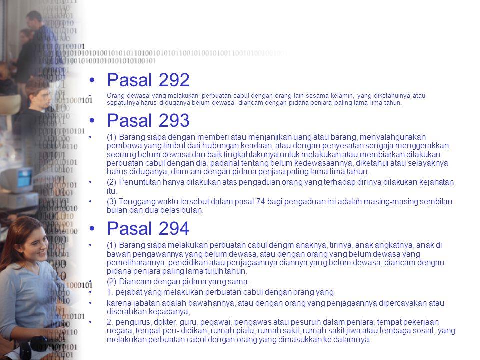 Pasal 292