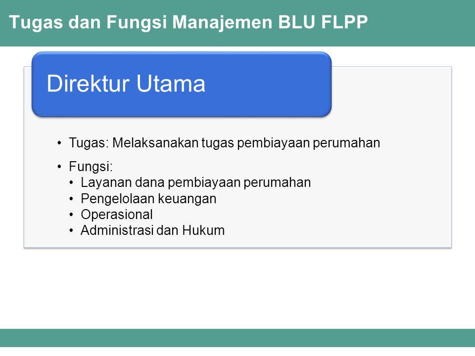 Tugas dan Fungsi Manajemen BLU FLPP