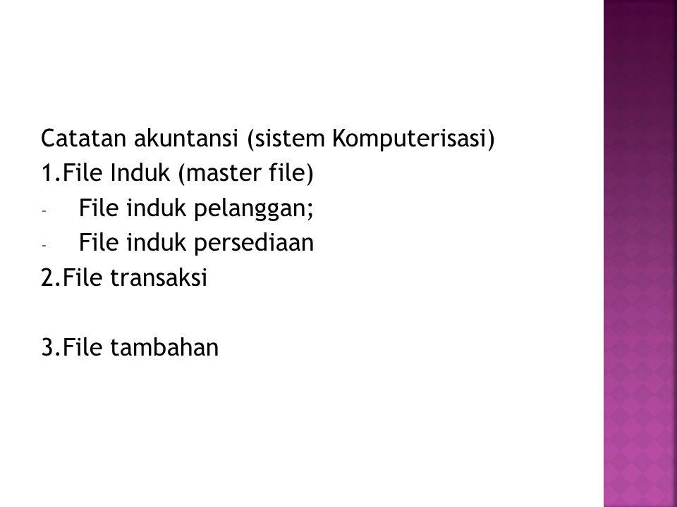 Catatan akuntansi (sistem Komputerisasi)