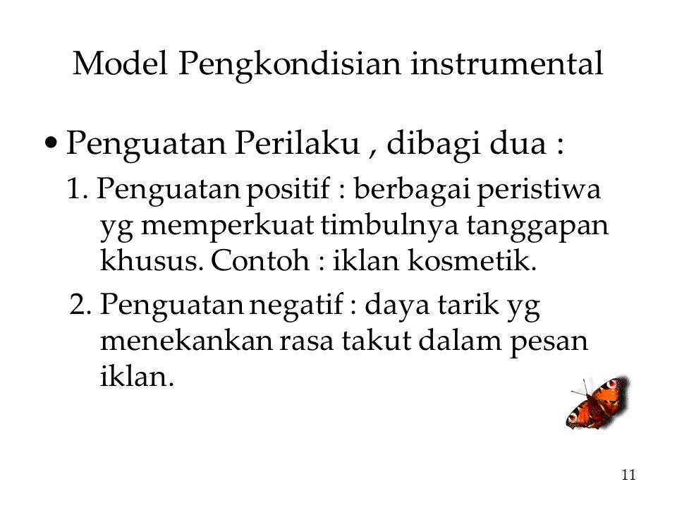 Model Pengkondisian instrumental