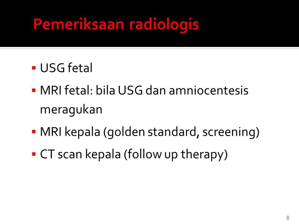 Pemeriksaan radiologis