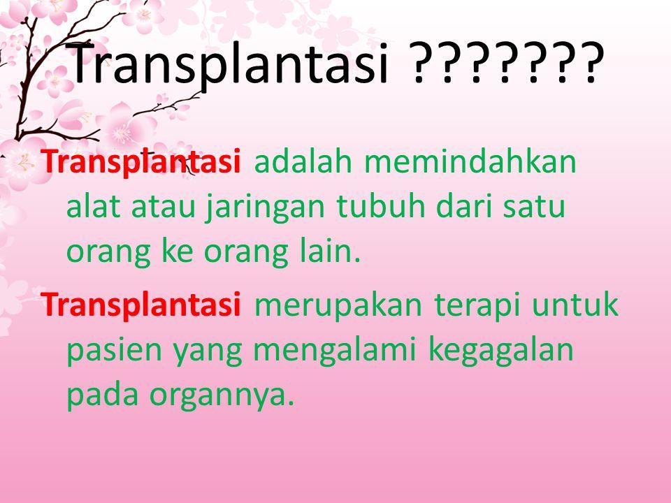 Transplantasi