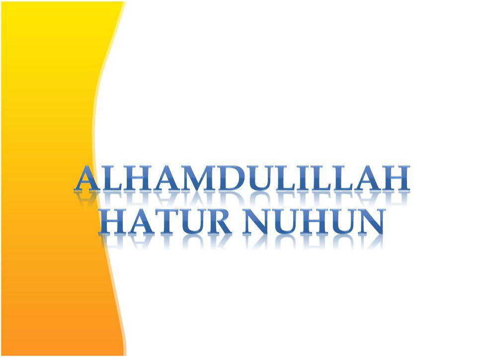 alhamdulillah Hatur nuhun