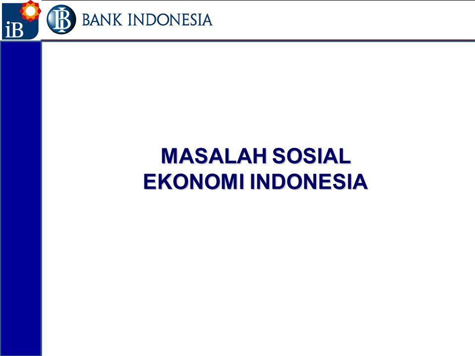MASALAH SOSIAL EKONOMI INDONESIA